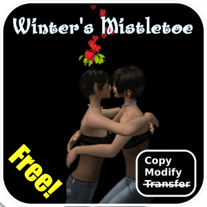 Winter's Mistletoe Box Graphic